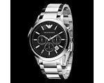 New Armani AR2434 Gents Classic Chronograph Watch