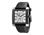 Emporio Armani Mens Meccanico Rubber Strap Watch..