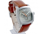 Emporio Armani AR5816 - Mens Leather Strap Desig..