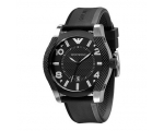 Emporio Armani AR5838 Large Mens Black Sports Wa..