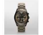 Emporio Armani AR5951 Sportivo ladies Grey Chron..
