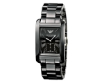 Emporio Armani AR1406 Men's Gents Ceramica Black..