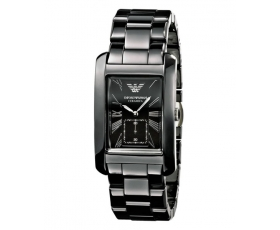 Emporio Armani AR1406 Men's Gents Ceramica Black Dial Black Watch