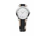Burberry BU1388 Ladies Heritage Silver Face Watch