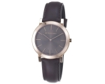 Burberry BU2354 Gents Brown Leather Strap Watch