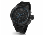 TW Steel Canteen Cool Black Chronograph 50mm Men..