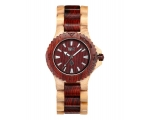 Wewood Watches Date Beige Brown Watch