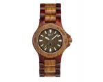 Wewood Watches Date Brown Army Watch