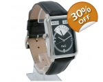 D&G Seaquest Black Dial Leather Mens Designer Wa..