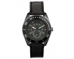 Armani Exchange Grey Dial Gunmetal Ion-plated Me..