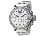 TW Steel Canteen Chronograph White Dial Unisex W..
