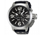 TW Steel Canteen Black Dial 45mm Mens Watch TWA200