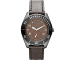 Armani Exchange GMT Brown Dial Stainless Steel M..