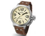 TW Steel Canteen 50 MM Ivory Dial Mens Watch TW21M