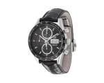 Carrera Automatic Chronograph Black Dial Black L..