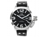 TW Steel Canteen Black Dial Stainless Steel Mens..