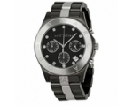 Marc Jacobs Blade Gunmetal and Silver-Tone Ladie..