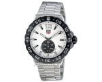 Tag Heuer Formula 1 Grande Date White Dial Stain..