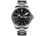 Hamilton Men's H64715135 Khaki King Pilot Black ..