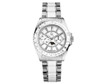 Guess Collection GC Ladies White Class Moon Watc..
