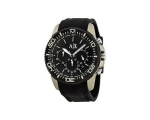 Armani Exchange Black Dial Black Silicone Mens W..
