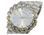 Marc by Marc Jacobs Silver Dial Stainless Steel ..