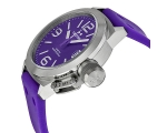 TW Steel Canteen Purple Dial Purple Silicone Men..