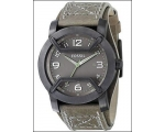 Fossil Men's Leather Strap Analog Dial Sport Wat..