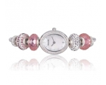 Accurist Ladies Mother of Pearl Charm Watch LB1469