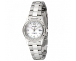 Accurist LB1540P Ladies Silver Watch