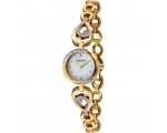 Accurist LB1555 Ladies Gold Stone Set Bracelet W..