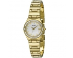 Accurist LB1660P Ladies Gold Diamond Watch