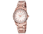 Accurist LB1685 Ladies Rose Gold Watch