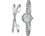 Accurist LB1800 Ladies' Mother of Pearl Watch & ..