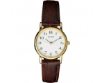 Accurist LS583WA Ladies Brown Leather Strap Watch