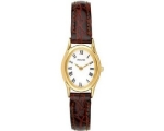 Accurist LS592 Ladies Analogue Brown Leather Str..