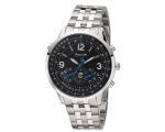 Accurist Men's Aviator Black Dial Bracelet Watch..