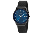 Accurist Slim Mens Bracelet Blue Face Watch MB899N