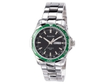 Accurist MB907GB Mens Bracelet Green Bezel Watch