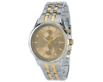 Accurist MB934G Mens Chrono Two Tone Bracelet Wa..