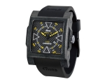 iTime Unisex with Black Dial Black Strap MC4300-..