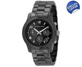 kors men s black ceramic bracelet watch mk5162 michael kors men s black ceramic bracelet watch mk5162