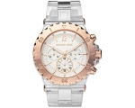Michael Kors Bel Aire Clear Resin Bracelet Watch..