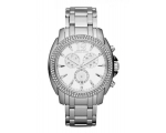 Michael Kors Chronograph Large Crystal Women Wat..