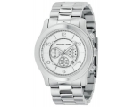 Michael Kors Chronograph Silver Watch MK8086