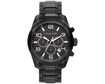 Michael Kors Dash Chronograph Black Ion-plated M..