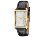 Accurist MS894S Gents Black Strap Silver Tone Di..