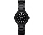 DKNY Watches NY8142 Ladies All Black Ceramic Watch