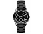 DKNY NY8314 Women's Black Chrono Ceramic Bracele..