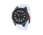 iTime Unisex Black Dial White Strap PH4300-PHD1 ..
